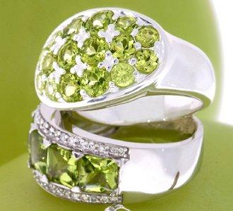 10 Peridot & Citrine Rings for a Pop of Color