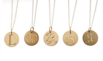 9 Gold Initial Pendants to Display Your Style