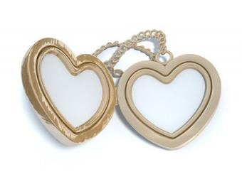 Heart-Shaped Lockets That Keep Love Alive