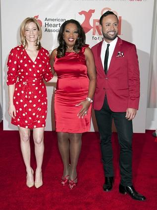 American Heart Association's Go Red for Women National Wear Red Day