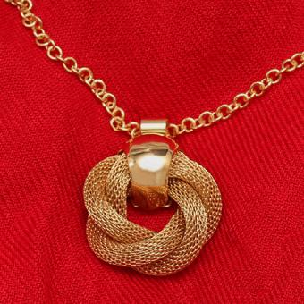 9 Love Knot Necklace Styles You'll Adore