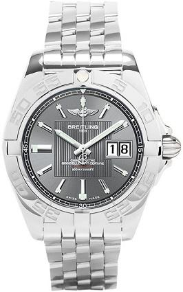 Galactic 41 Black Dial Watch