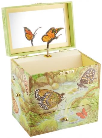 Monarchs Musical Jewelry Box
