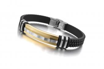 https://cf.ltkcdn.net/jewelry/images/slide/209754-850x567-Rubber-bracelet-with-gold-accent.jpg