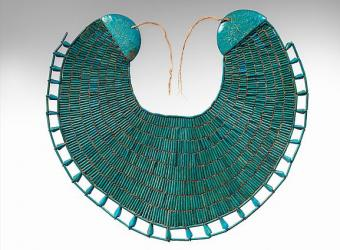 Broad Collar of Wah from Egypt [