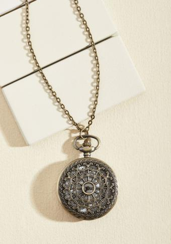 Turn Back Time Necklace