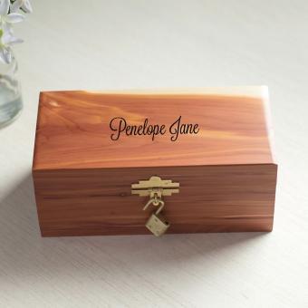 Personalized Child's Keepsake Box