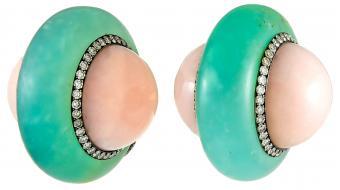JAR Ear Clips from Yafa Signed Jewels