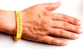 Custom silicone sports wristband