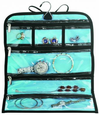Travel Smart by Conair Jewelry Roll Bag