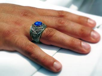 U.S. Naval Academy ring