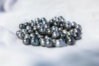 Tahitian Black Pearls