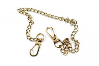 Gold hook for trouser accessories