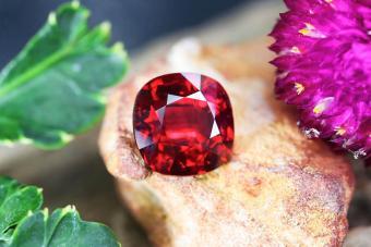 Beauty Red Gemstone