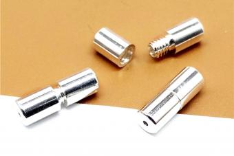 Sterling Silver Screw Clasps