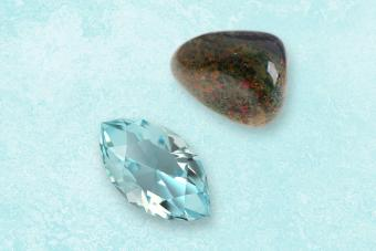 March Birthstones: Mysterious Aquamarine and Bloodstone