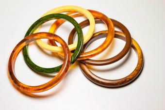 vintage bakelite bangle bracelets