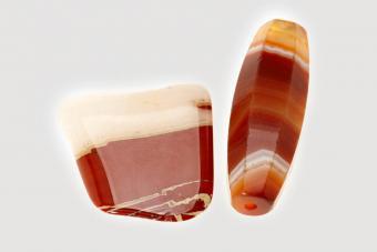 Sardonyx gemstones