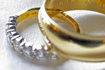 Wedding Rings with Engraving