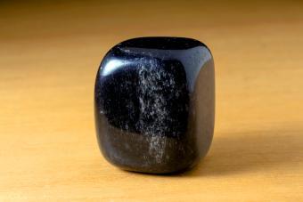 Black Onyx Polished Gemstone