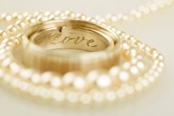 Wedding ring engraved
