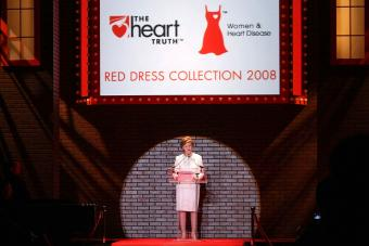 Red Dress Pin: a Symbol for Women's Heart Health