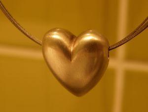 Image of a heart pendant