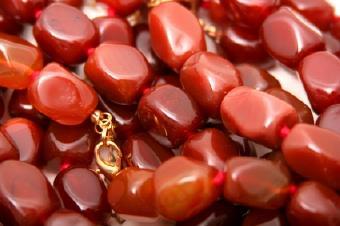 Carnelian Bead Necklaces: Add a Pop of Color