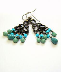 4 Colorful Beaded Earring Types