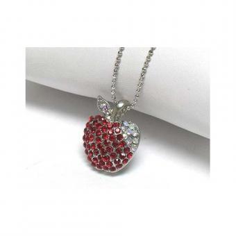 Jeweled Apple Pendants