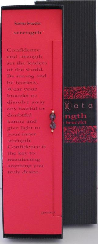 Anahata Jewelry's Strength Karma Bracelet