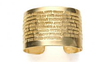Spiritual Inspiration With Scripture Jewelry Designer
