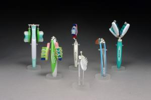 toothbrush art