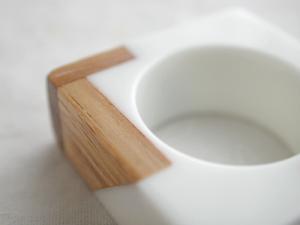 Linnea wooden ring