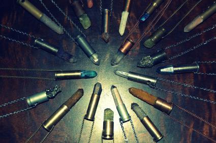 Bullet art jewelry
