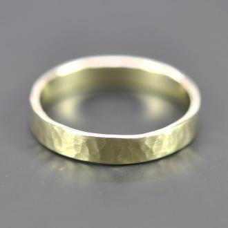 14K Green gold ring