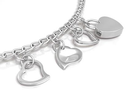 follow your heart charm bracelet