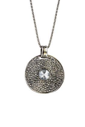 crop circle necklace