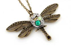 Steampunk Bronze Dragonfly