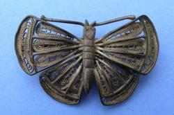 Pewter Butterfly Broach