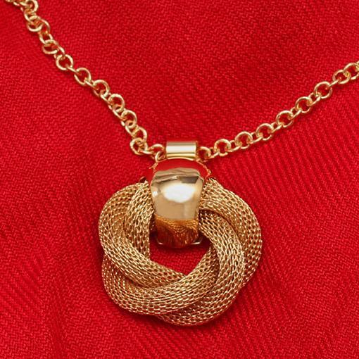 bronze 12 pieces Infinity Love pendant