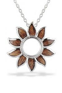 Na Hoku Sterling Silver Sun Pendant