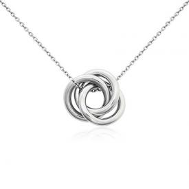Blue Nile Love Knot Pendant