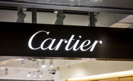 Cartier signage