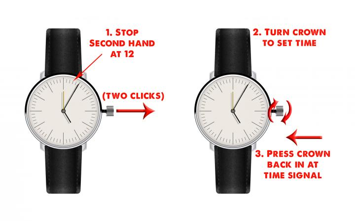 how to set a watch