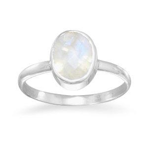 Stackable Moonstone Ring