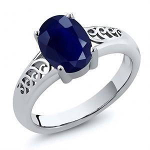 real gia ring sapphire options engagement ct index platinum ajax vivid id blue overview quick product