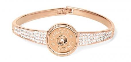 Ginger Snaps Rose Gold Stones Bracelet