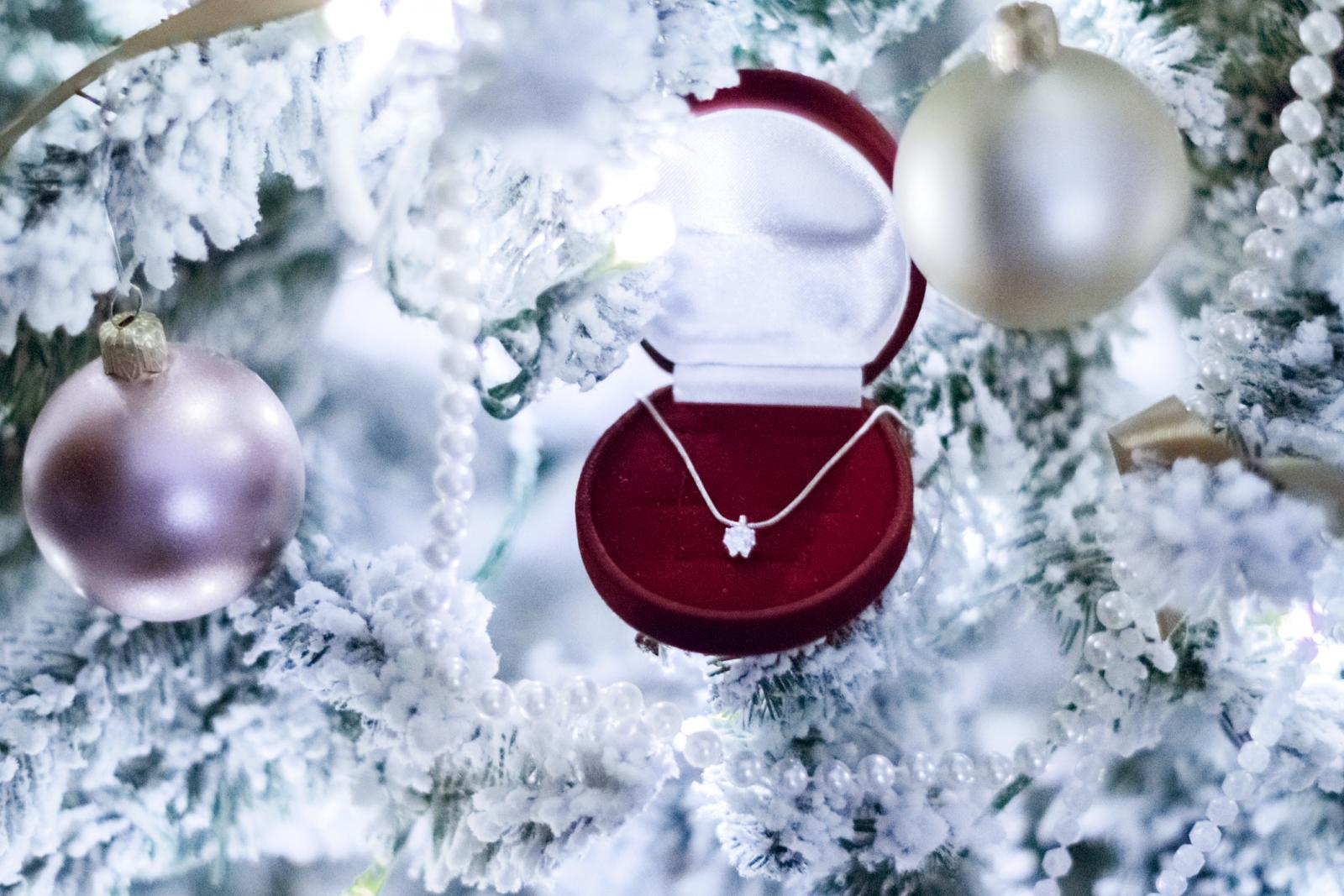 Diamond jewellery for Christmas