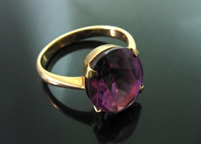 Estate Amethyst Quartz Ring